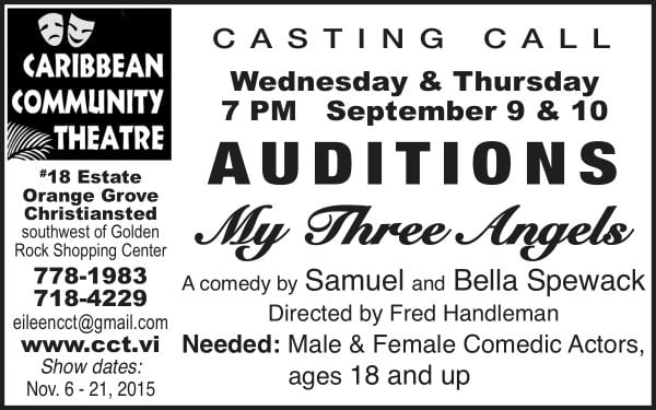 Auditions-Avis ad for FB