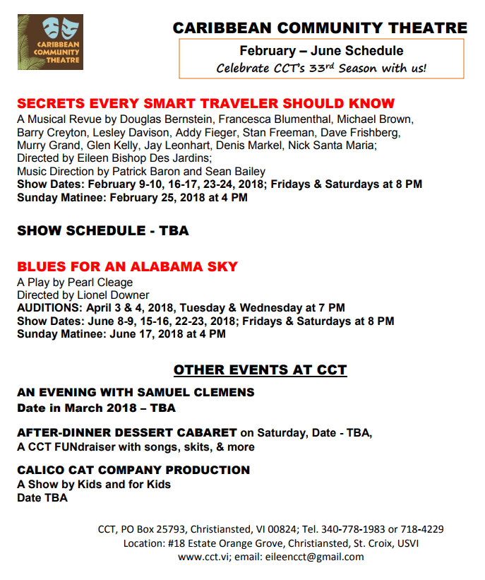 cct schedule
