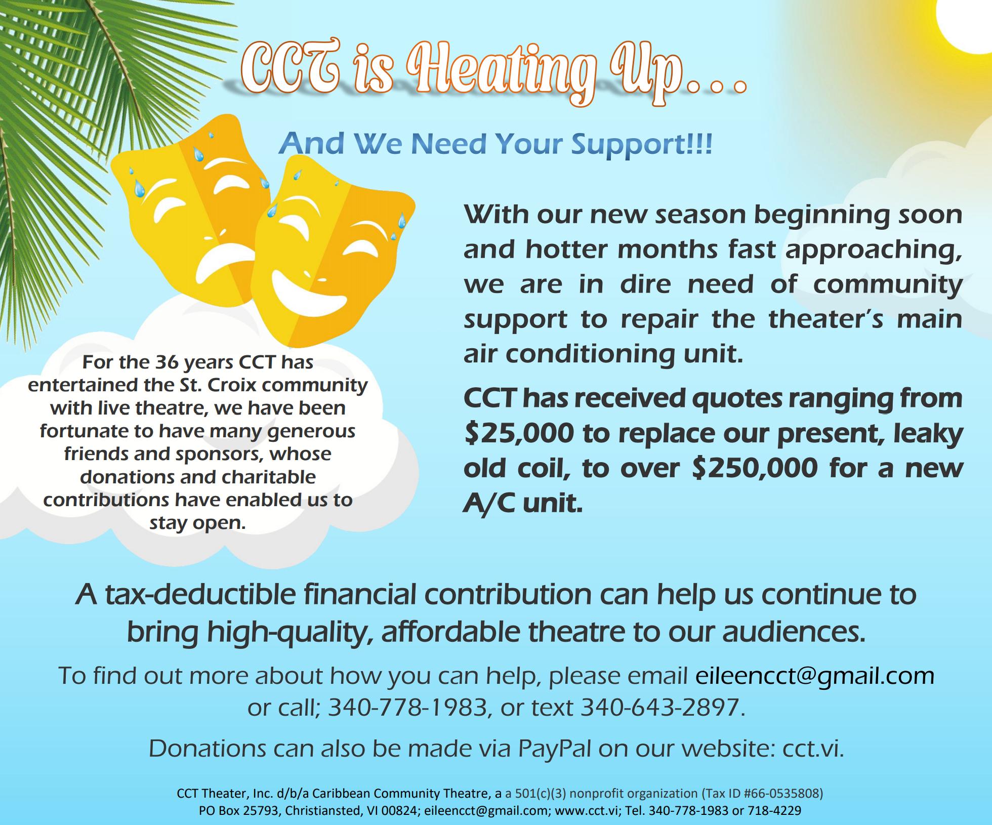 Donate to CCT